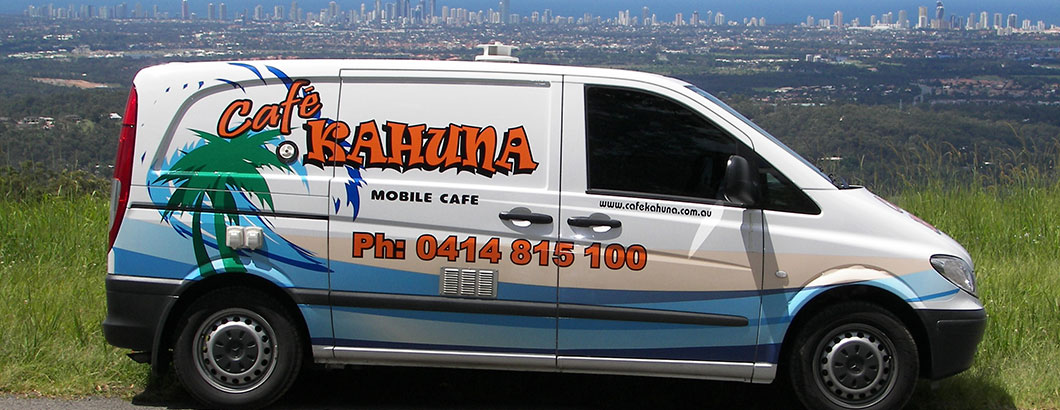Cafe Kahuna Coffee Van Image
