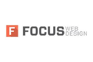 Focus Web Design Logo Image
